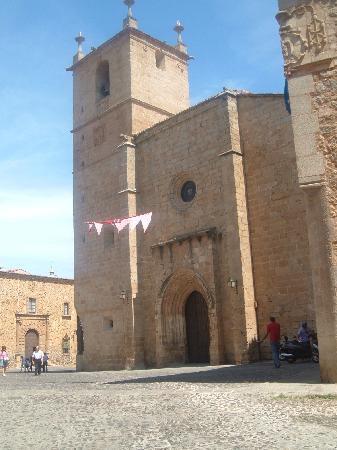 Old Town of Cáceres: Iglesia de Concatedral de Santa Maria (Caceres)