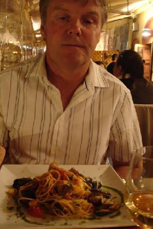 La Belle Escale: seafood linguine