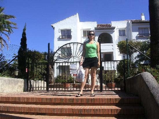 Miraflores Resort: Outside the Rancho apartments