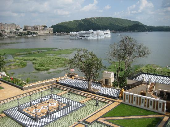 The Leela Palace Udaipur: View from my room
