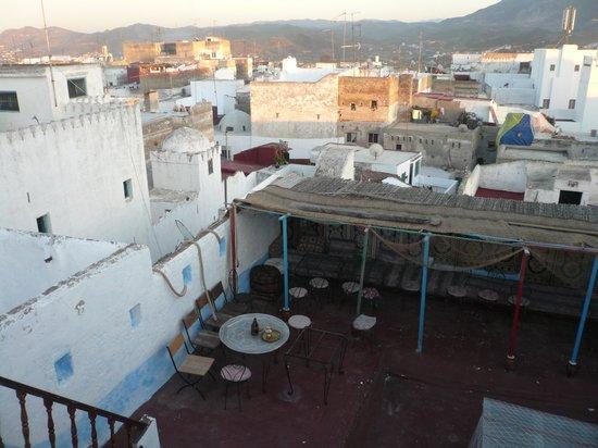 Riad Dalia Tetouan: la terrasse