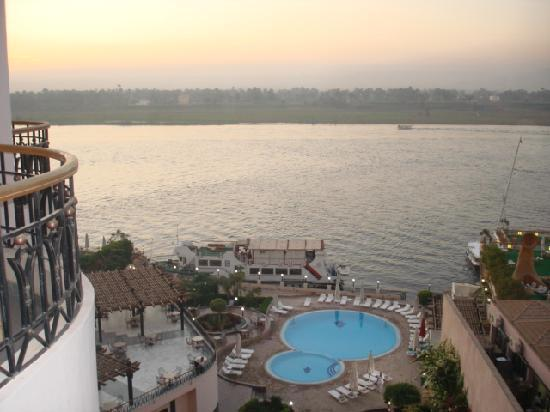 Lotus Luxor Hotel: View from room 403