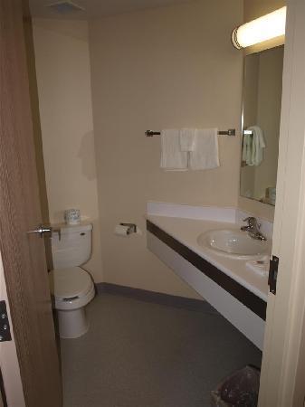 Motel 6 Niagara Falls: Baño