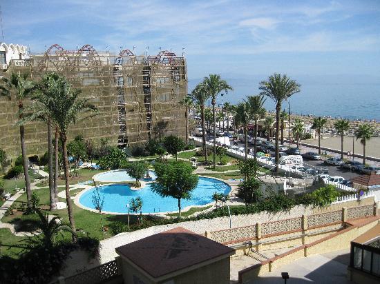 picture from the balcony melia costa del sol. Black Bedroom Furniture Sets. Home Design Ideas