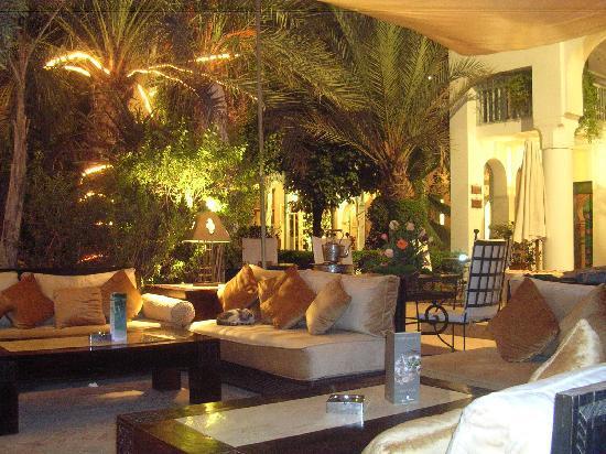 Les Jardins de la Medina: la entrada al jardin