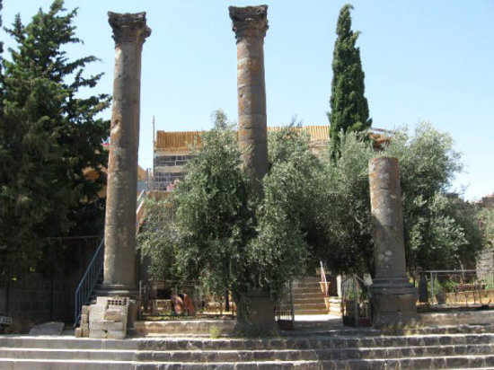 As Suwayda, Siria: Temple Julius Marinus