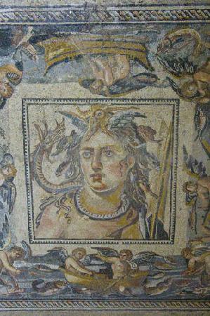 As Suwayda, Сирия: Shahba mosaics