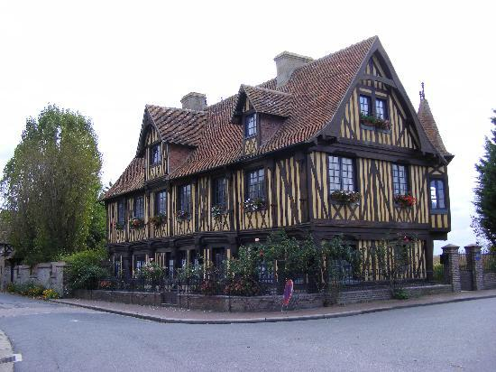Beuvron-en-Auge, Basse-Normandie, Normandy, France