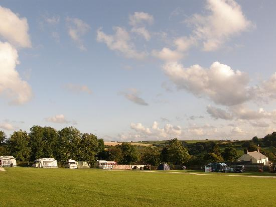 Court Farm: Plenty of Space, picture taken from our tent.