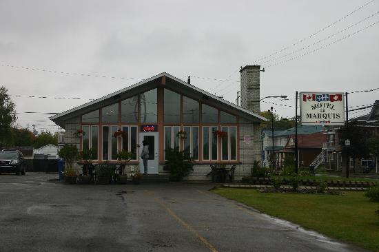 Motel le Marquis : vue de la réception