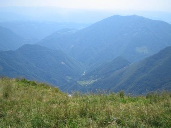 Ribcev Laz, Slowenien: Huh hui, vielä pitäis kiivetä.