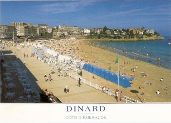 Dinard, Francja: Idilično mestece na atlantski obali.