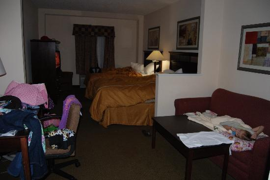 Fairfield Inn & Suites Charleston North/Ashley Phosphate: Our room