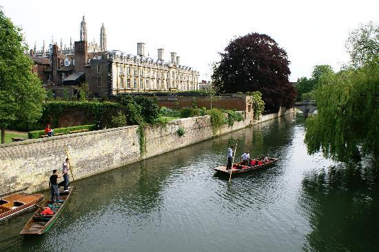 The Gonville Hotel: Cambridge Punting.