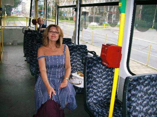 Hotel Atrium: Easy to get around with tram by hotel