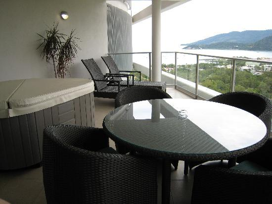 Searene Whitsundays: Balcony with great view
