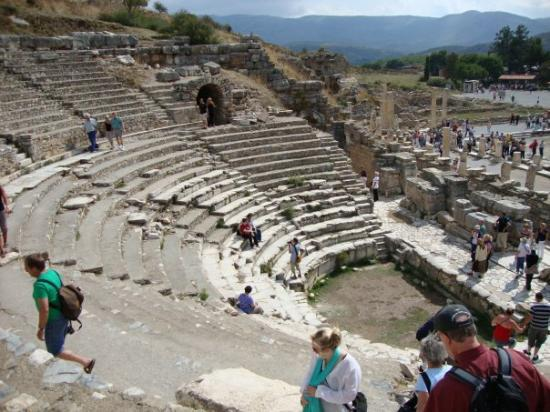 State Agora: Ephuses, an ancient Greek city - one of the Seven Wonders of the Ancient Worlds. This is the anc