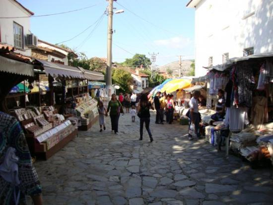 Turkish Village Sirince- Sirince is very popular for its buiding style, house, streets and apple