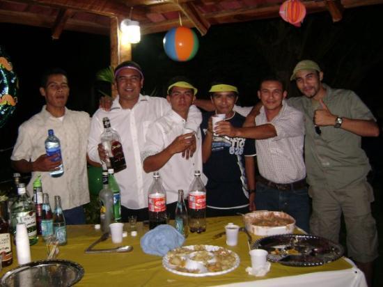 Finca Playa Venecia: Ariel, Cerafin, Osler, Santiago, Jarvier and Will
