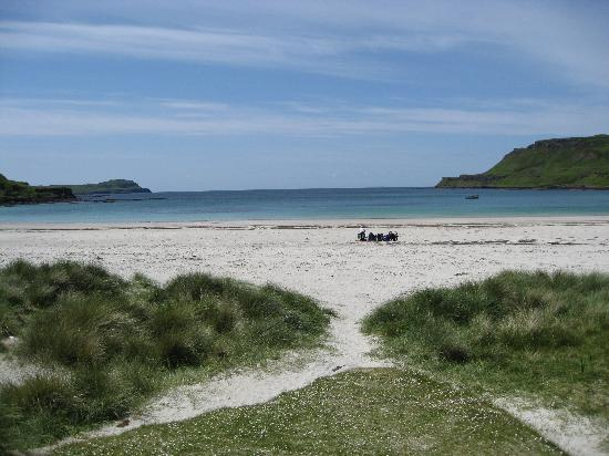 Isle of Mull, UK: calgary beach