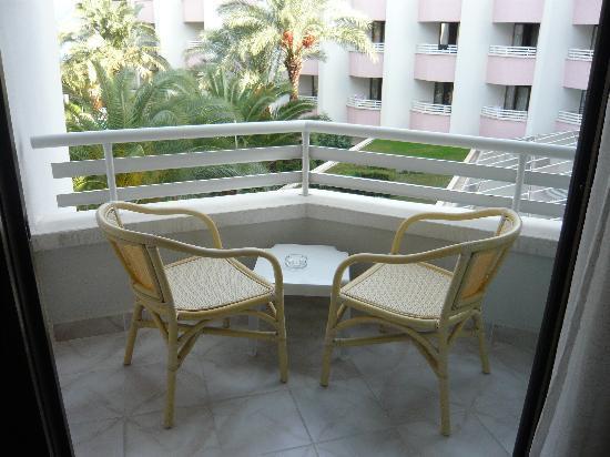 Hotel Aqua: Balcony