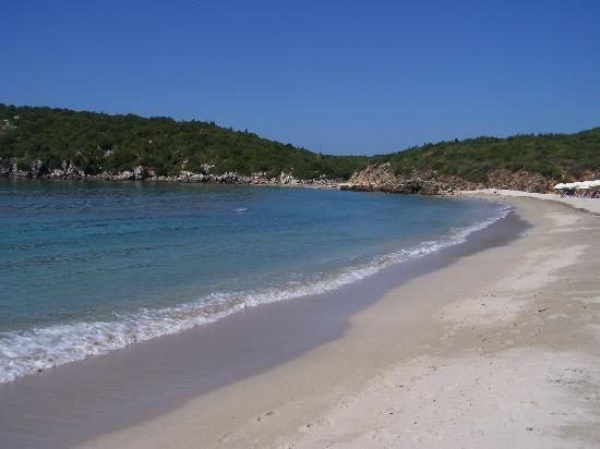 Ammoudia, Grèce : Beach at amoudia