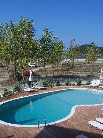 Ammoudia, Grecia: pool area