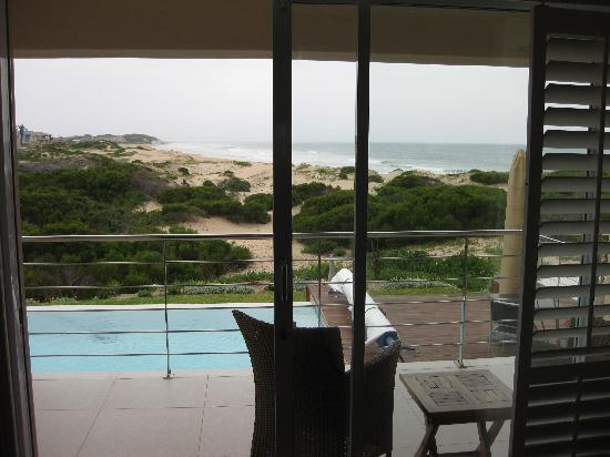 Moya Manzi Beach House : View from our room