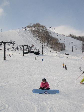 Asuka Apartments: awesome skiing/boarding in Niseko