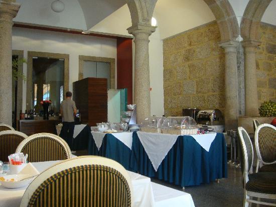 Hotel Bracara Augusta: Le petit déjeuner