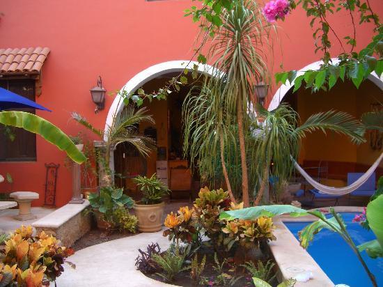 Angeles de Merida Bed and Breakfast: Pool