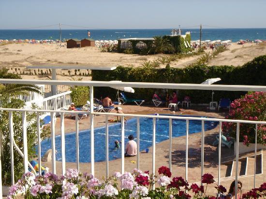 Vasco da Gama Hotel: al fondo el Atlantico
