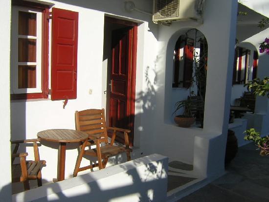 Domna Petinaros Apts Hotel Mykonos: Ingresso