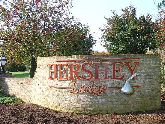 Sheets were crisp and bed was comfy. - Picture of Hershey ...  Hershey