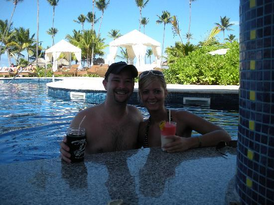 Iberostar Grand Hotel Bavaro: At the pool bar