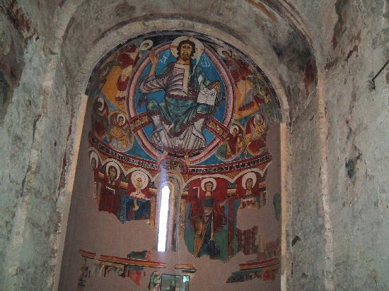Iglesias románicas catalanas de la Vall de Boí: Pantocrator, San Climent de Taüll