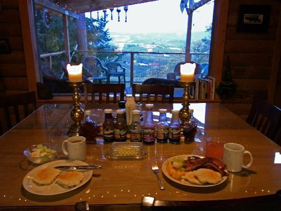Panorama Lodge: breakfast