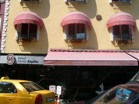 Santa Sophia Hotel: hotel front side