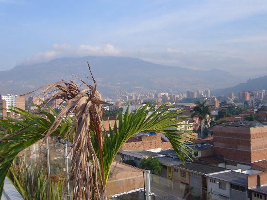 Hotel Suite Comfort : vista de la ciudad de Medellín