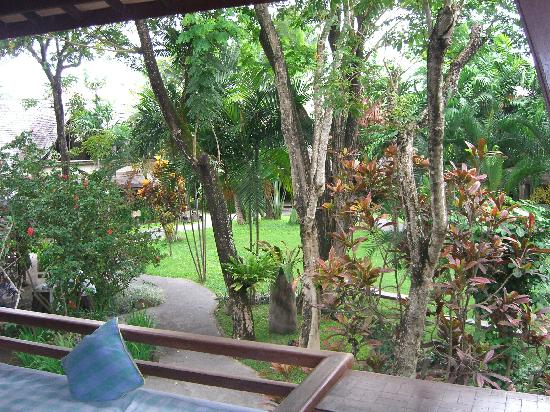 Hotel Vila Lumbung: view from balcony