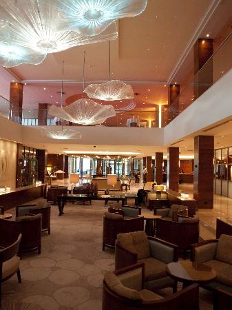 Hotel Okura Amsterdam : Lobby of Okura