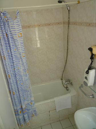 Hotel du Lion d'Or Louvre : wonderful shower and tub