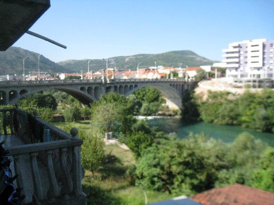 Pansion Aldi Mostar: View from the window