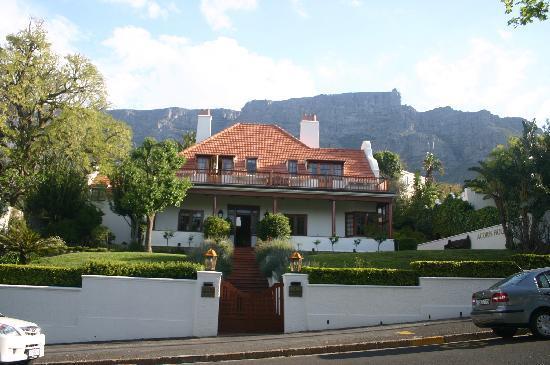 Lage Acorn House Nähe Tafelberg