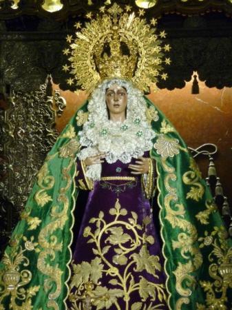 Basilica de la Macarena Bild