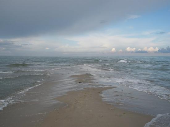 Grenen Skagen : Skagen. Nord und Ostsee begegnen sich