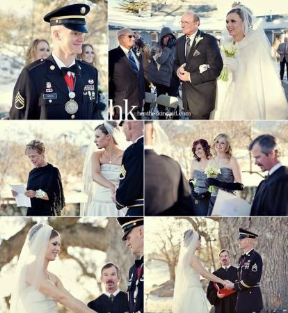Tehachapi, CA: This set captured to ceremony very well. . .