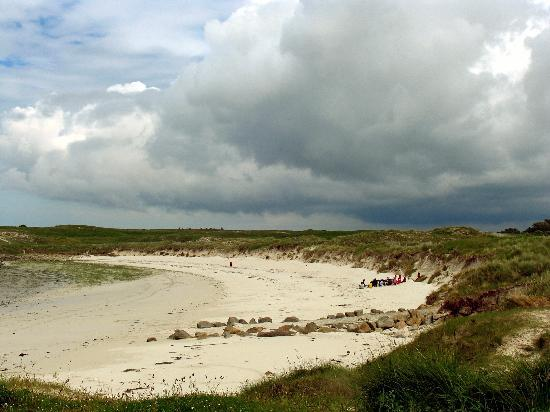Camping Les Abers : am Strand --