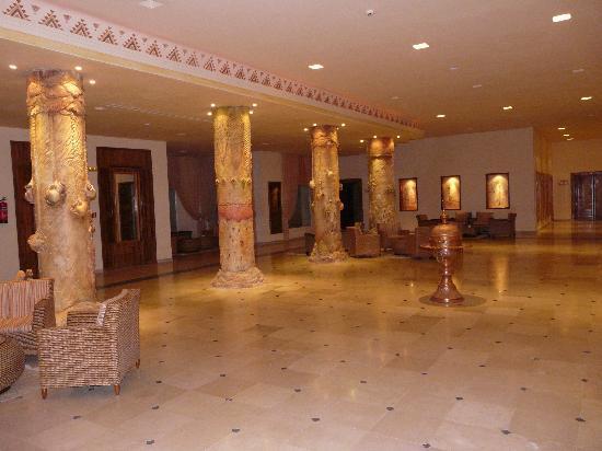 Hotel Sahara Douz: le hall de l'hotel