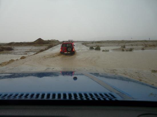 Hotel Sahara Douz: Orage sur le convoi